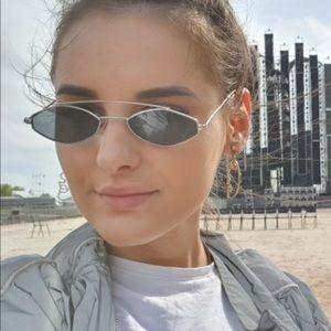 Women Retro Oval Sunglasses